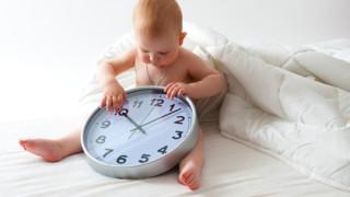 赤ちゃんの体内時計をリセットしよう
