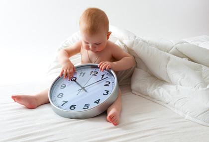 赤ちゃん 体内時計