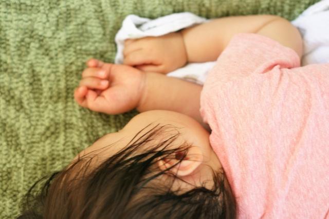 赤ちゃん 寝汗